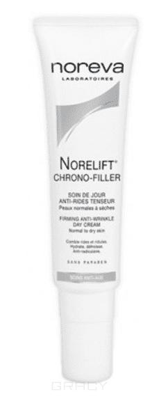 Дневной укрепляющий крем против морщин для сухой и нормальной кожи Chrono-Filler Norelift, 30 мл greenpharma крем против морщин для нормальной и смешанной кожи 50 мл