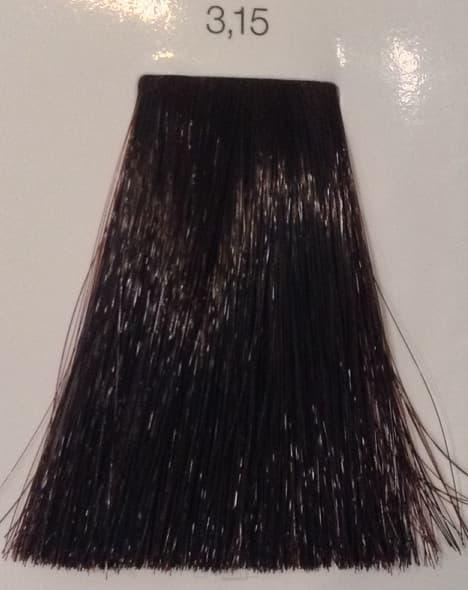 LOreal Professionnel, Краска дл волос INOA (Иноа), 60 мл (96 оттенков) 3.15 очень темный шатен пепельно-красныйОкрашивание: Majirel, Luo Color, Cool Cover, Dia Light, Dia Richesse, INOA и др.<br><br>