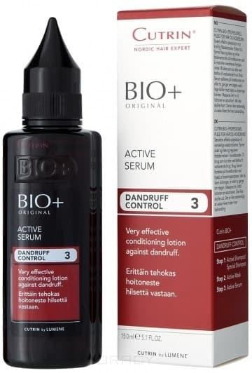 Cutrin, Активный лосьон против перхоти Dandruff Control Active Serum, 150 млCutrin BIO+ решение проблем волос и кожи головы<br><br>