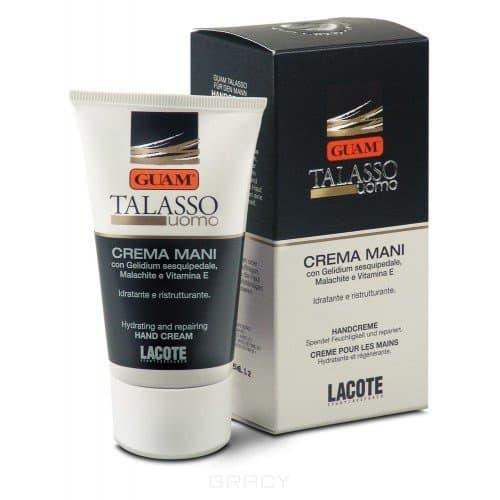 Крем для душа-шампунь Talasso Uomo, 200 млОписание: &#13;<br> &#13;<br>  &#13;<br> &#13;<br> &#13;<br>Крем для душа-шампунь GUAM Talasso Uomoможно использовать как для тела, так и для волос. Средство идеально очищает волосы и тело, придает волосам мягкость, волосы легко расчесываются.&#13;<br> &#13;<br> &#13;<br>  &#13;<br> &#13;<br> &#13;<br>Активные компоненты:&#13;<br> &#13;<br> &#13;<br>  &#13;<br> &#13;<br> &#13;<br>Масло семян Крамбе абиссинского, морская соль, хвойное эфирное масло, экстракт водорослей Гуам, экстракт коры приморской сосны, экстракт малахита.<br>