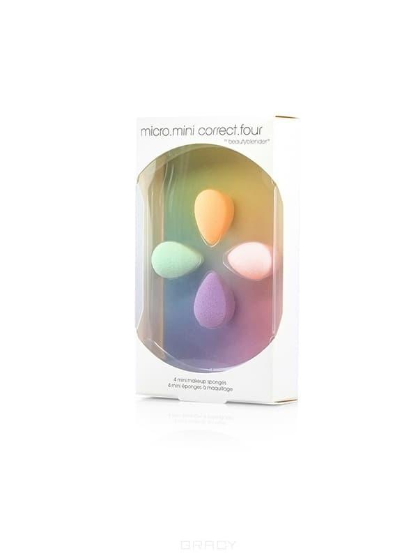 BeautyBlender, Набор косметический Micro Mini Correct FourПринадлежности и аксессуары<br><br>