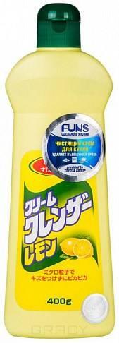 Funs, Крем чистящий для кухни и посуды с ароматом лимона, 400 гр funs крем чистящий универсальный с ароматом апельсина orange boy 400 гр