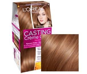 LOreal, Краска для волос Casting Creme Gloss (37 оттенков), 254 мл 723 Шоколадное суфлеОкрашивание<br><br>