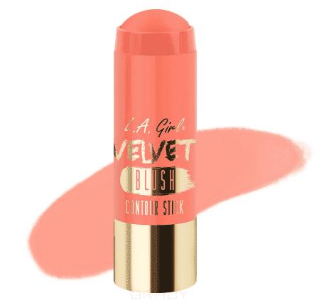 L.A. Girl, Румяна-стик Velvet Contour Stick blush (7 оттенков) My Bae