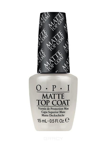 OPI, Покрытие верхнее для создания матового эффекта Matte Top-Coat, 15 мл hogl