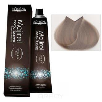 L'Oreal Professionnel, Краска для волос Majirel Cool Cover, 50 мл (33 оттенка) 10.1 очень-очень светлый блондин пепельный недорого