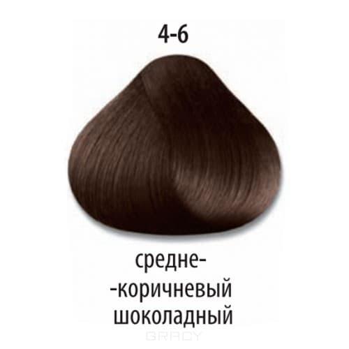Купить Constant Delight, Краска для волос Констант Делайт Trionfo, 60 мл (74 оттенка) 4-6 Средний коричневый шоколадный
