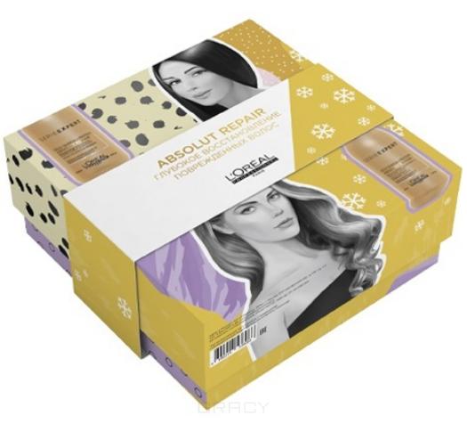 Купить L'Oreal Professionnel, Набор для поврежденных волос (шампунь + кондиционер) Absolut Repair, 300/200 мл