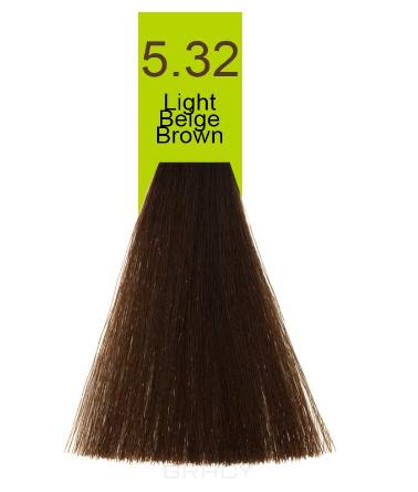 Купить Macadamia Natural Oil, Краска для волос Oil Cream Color, 100 мл (97 тонов) 5.32 Светло бежевый каштановый