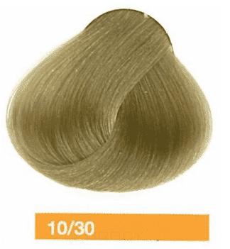 Lakme, Перманентная крем-краска Collage, 60 мл (99 оттенков) 10/30 Очень светлый блондин золотистый
