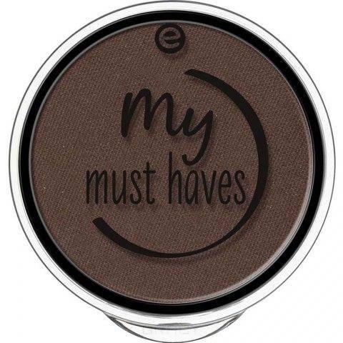 Купить Essence, Тени для век My Must Haves, 1.7 гр (15 оттенков) №04, горький шоколад