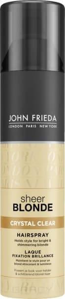 John Frieda, Прозрачный лак для создания формы и сияния светлых волос Sheer Blonde, 250 млSheer Blonde -  линия для ухода за волосами светлых оттенков<br><br>