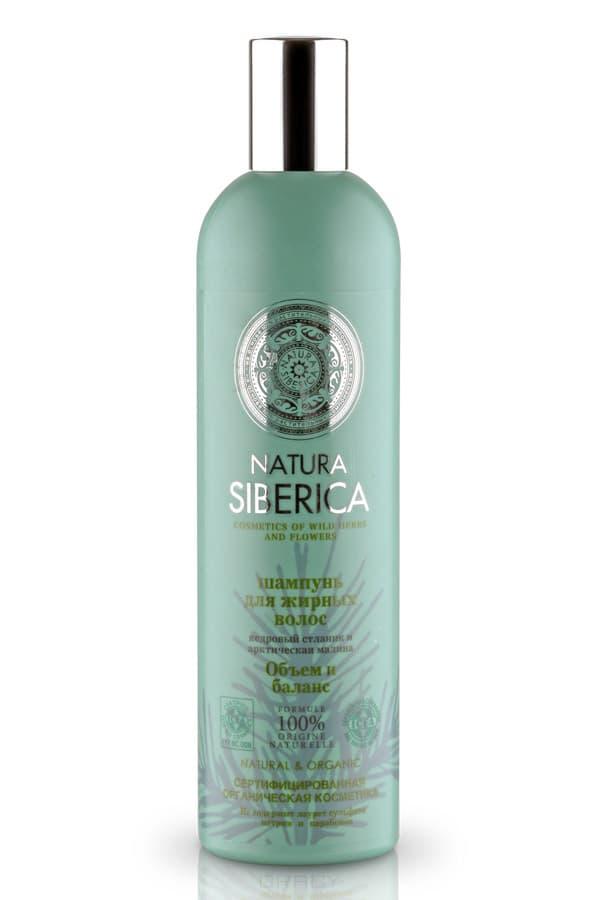 Купить Natura Siberica, Шампунь для жирных волос Объем и баланс, 400 мл