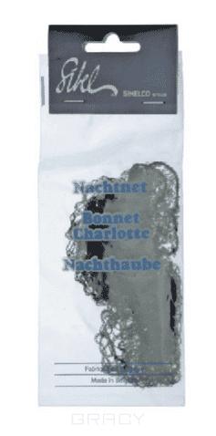 Сеточка для волос Rayonne коричневаяКоричневая сетка для волос Sibel RAYONNE 101513315<br>