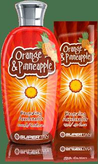 Supertan, Бронзирующий ускоритель загара с маслом апельсина Orange &amp; Pineaple, 200 млGreenism - эко-серия для ухода<br><br>