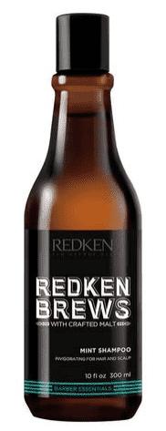 Redken, Шампунь мужской для всех типов волос с перечной мятой Brews Mint Shampoo, 300 мл redken mint clean 300 мл