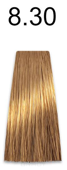Купить Kaaral, Стойкая безаммиачная крем-краска с гидролизатами шелка Baco Soft Ammonia Free, 60 мл (42 оттенка) 8.30 светлый золотистый блондин