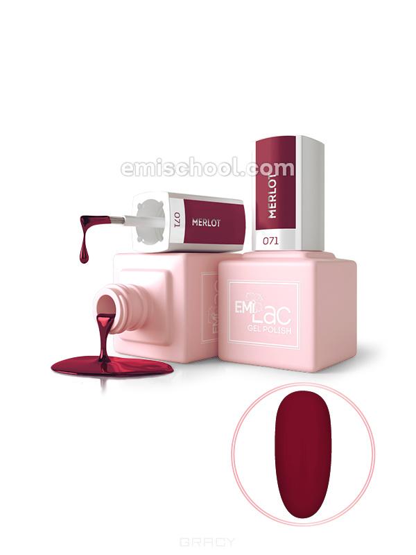 Купить E.Mi, Гель-лак для ногтей, E.MiLac (392 тона) №071 DV Мерло