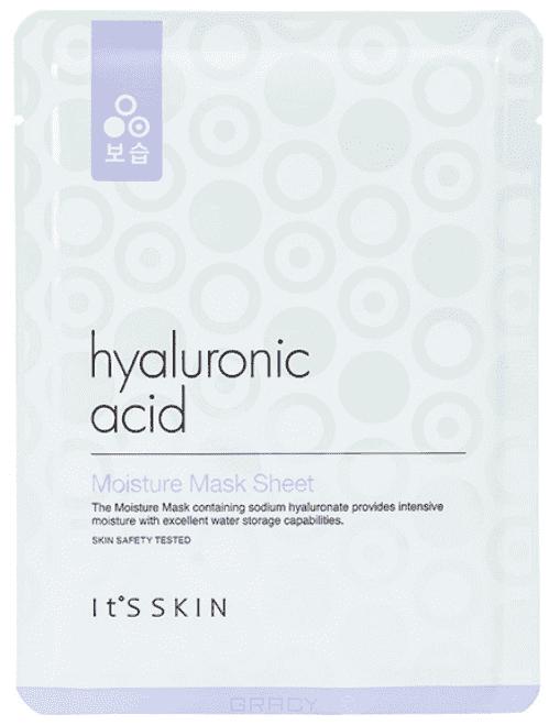 Купить It's Skin, Hyaluronic Acid Moisture Mask Sheet Увлажняющая тканевая маска с гиалуроновой кислотой Итс Скин, 17 г