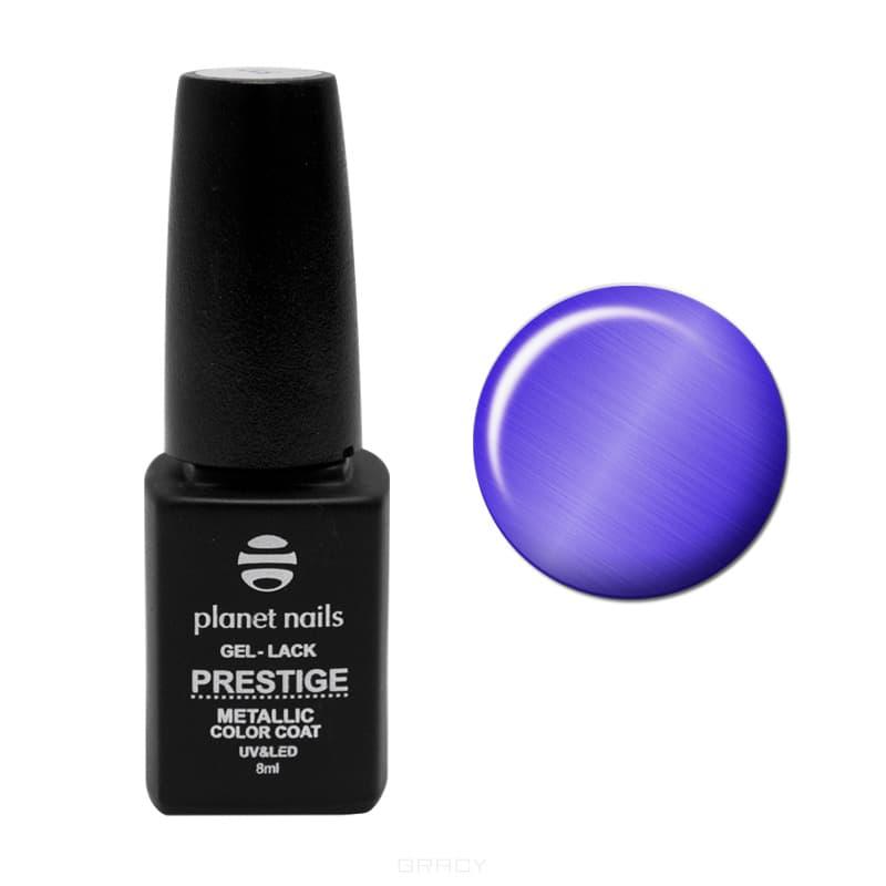 Planet Nails, Гель-лак витражный Prestige-Metallic, 8 мл (5 цветов), 8 мл, 105Гель-лаки<br><br>
