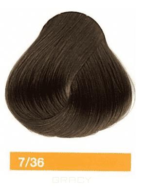 Купить Lakme, Перманентная крем-краска Collage, 60 мл (99 оттенков) 7/36 Средний блондин золотисто-коричневый