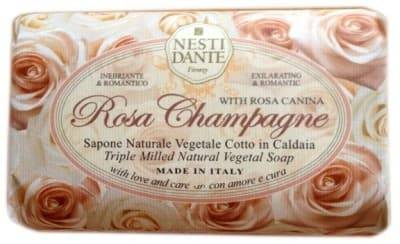 Nesti Dante, Мыло Роза шампань Rose Champagne, 150 гр.Greenism - эко-серия для ухода<br><br>