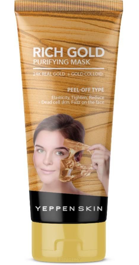 Купить Yeppen Skin, Маска пленка с Золотом для глубокой очистки, лифтинг Rich Gold Purifying Mask-Peel-off Type, 100 мл