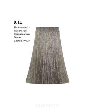 Купить BB One, Перманентная крем-краска Picasso (153 оттенка) 9.11Intensive Ash Natural Very Light Blond/Интенсивно-Пепельный Натуральный Очень Светло-Русый