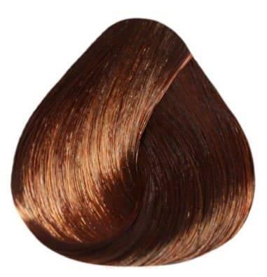 Купить Estel, De Luxe Крем-краска для волос Базовые оттенки Эстель Cream, 60 мл (151 оттенок) 6/40 Темно-русый медный для седины