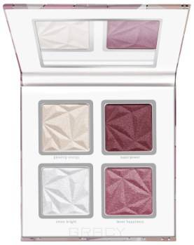 Essence, Палетка для макияжа: румяна и хайлайтеры crystal power blush & highlighter румяна blush box glowing multicolour 2 оттенка