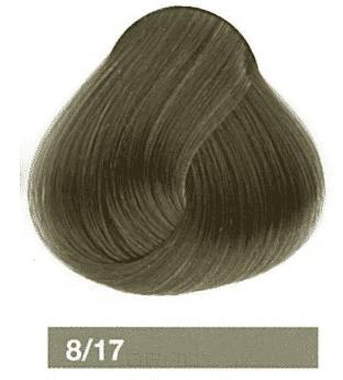 Купить Lakme, Перманентная крем-краска Collage, 60 мл (99 оттенков) 8/17 Блондин пепельный