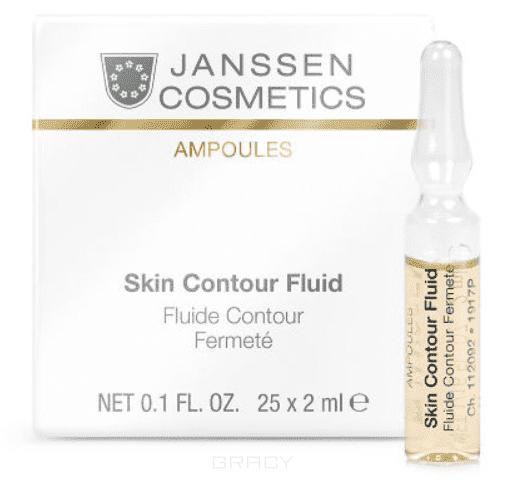 Janssen, Anti-age лифтинг-сыворотка с пептидами стимулирующими синтез эластина Skin Contour Fluid, 3х2 мл цена
