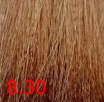 Купить Kaaral, Крем-краска для волос Baco Permament Haircolor, 100 мл (106 оттенков) 8.30 светлый золотистый блондин