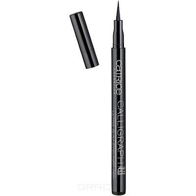 Catrice, Подводка для глаз Calligraph-Ultra Slim Eyeliner Pen, тон 010, черный catrice подводка для глаз glam