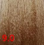 Купить Kaaral, Крем-краска для волос Baco Permament Haircolor, 100 мл (106 оттенков) 9.0 очень светлый блондин