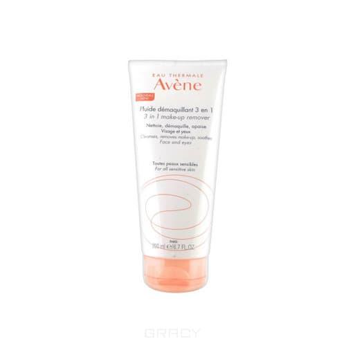 Avene, Флюид для снятия макияжа 3 в 1, 200 мл набор увлажняющий крем гидранс оптималь лежер 40 мл флюид для снятия макияжа 3 в 1 100 мл avene hydrance