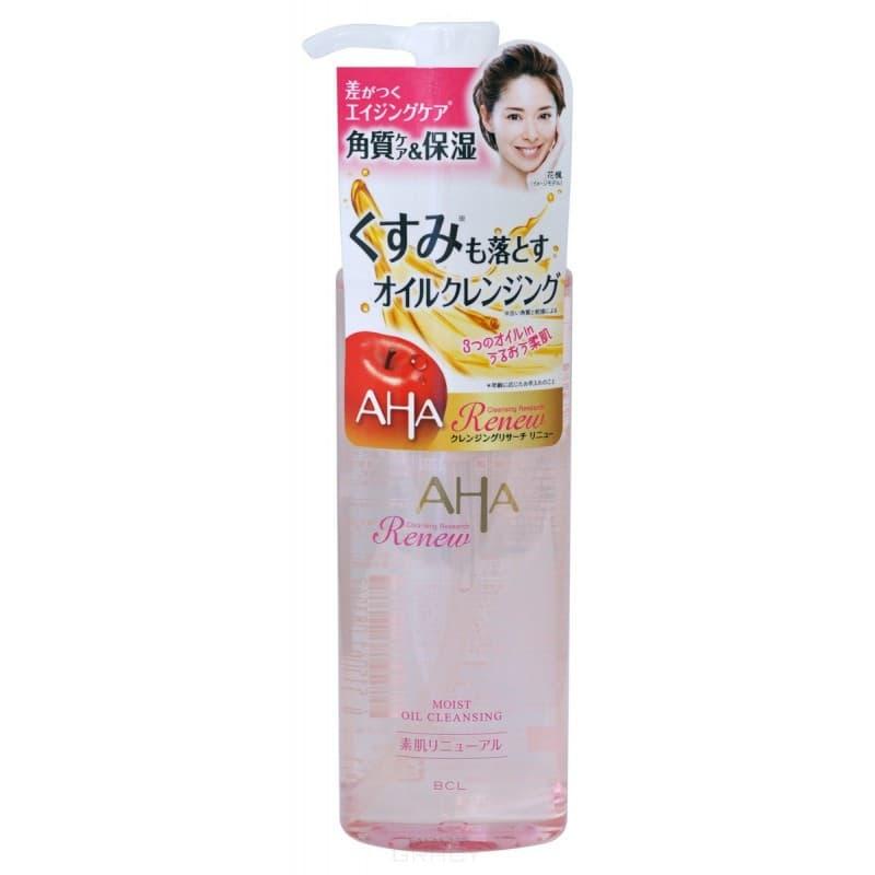 Купить BCL, Очищающее и увлажняющее масло для снятия макияжа (с фруктовыми кислотами) Cleaning Research Moist Oil Cleansing, 145 мл