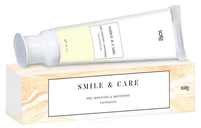 Smile Care, Зубная паста Отбеливающая для чувствительных зубов, 70 мл pearl drops зубная паста молодая улыбка каждый день youthful smile 50 мл