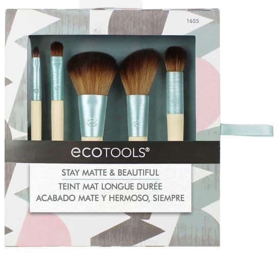 Ecotools, Набор кистей для макияжа Stay Matte & Beautiful цены