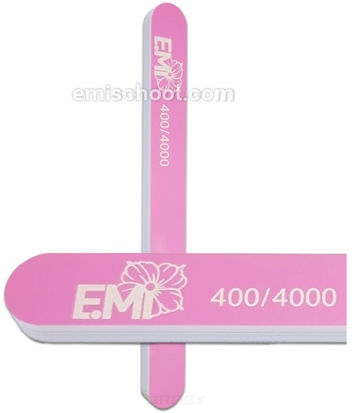 Купить E.Mi, Пилка полировочная для натуральных ногтей Ultra Shine 400/4000