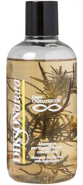 цены Dikson, Шампунь с экстрактом бессмертника для сухих волос Natura Shampoo per capelli Secchi With Helichrysum, 250 мл