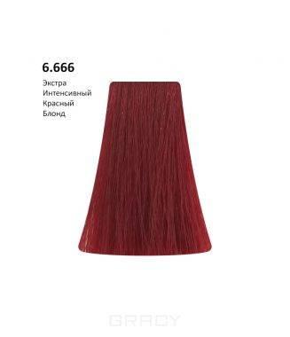 Купить BB One, Перманентная крем-краска Picasso (153 оттенка) 6.666Extra Intensive Red Dark Blond/Экстра Интенсивный Красный Блондин