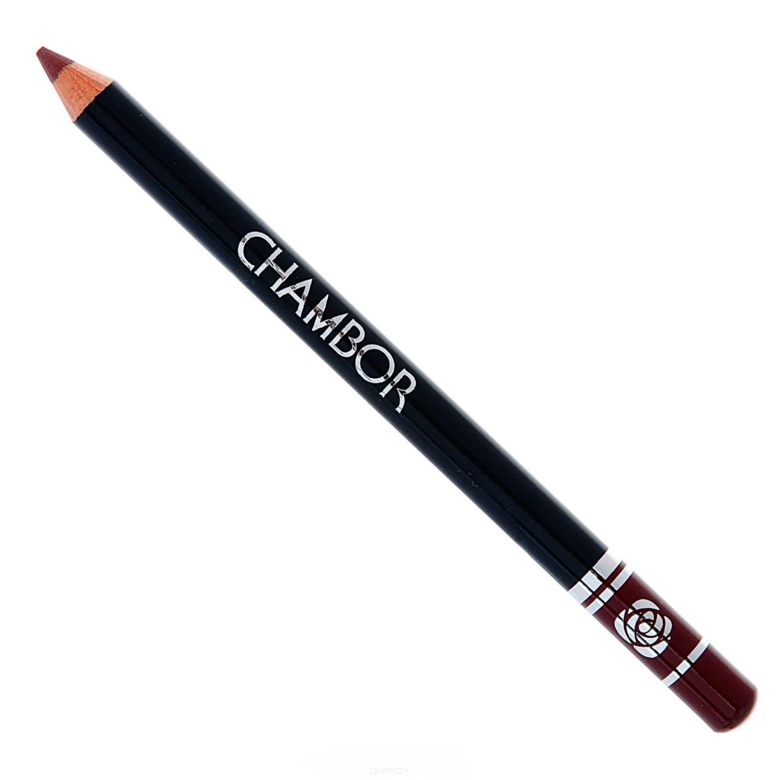 Chambor, Карандаш для губ Lip Contour Pencil, 1,15 гр., maroon 1,15 гр. темно-красный кирпичныйДля губ<br><br>