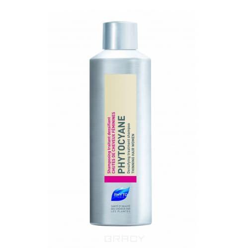 Phytosolba, Фитоциан шампунь тонизирующий против выпадения волос, 200 мл фитоциан шампунь ампулы