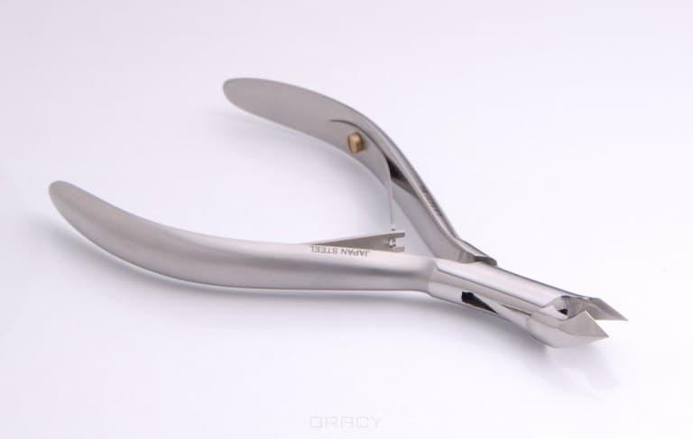 Кусачки для кожи, длина 115 мм, лезвие 6 мм. ML316Гладкая фактура ручек &#13;<br>          &#13;<br>         Матовая поверхность &#13;<br>          &#13;<br>         Муфтовое соединение<br>
