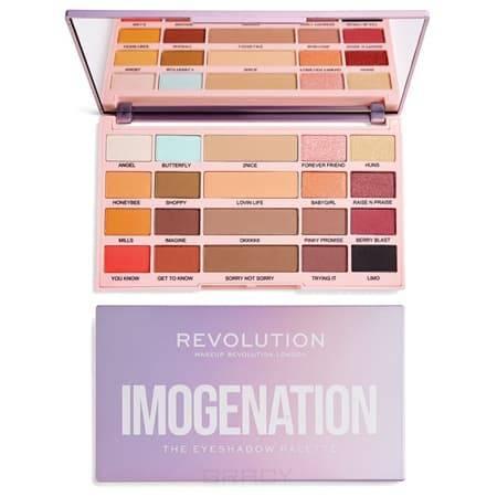 Купить MakeUp Revolution, Палетка теней The Eyeshadow Palette Imogenation