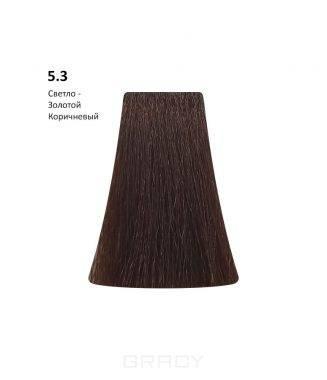 Купить BB One, Перманентная крем-краска Picasso Colour Range без аммиака (76 оттенков) 5.3Light Golden Brown/Светло-Золотой Коричневый
