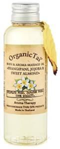Купить Organic Tai, Масло для тела и аромамассажа Body & Aroma-Massage Oil Frangipani, Jojoba & Sweet Almond , 120 мл