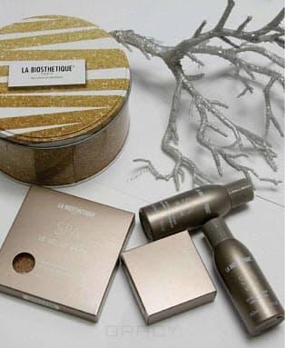 La Biosthetique, Подарочный набор в круглой жестяной коробке N012 Golden SPA, 2х60 мл + 2х50