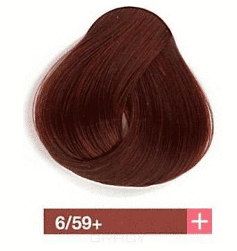 Lakme, Перманентная крем-краска Collage, 60 мл (99 оттенков) 6/59+ Темный блондин интенсивный махагоновый barex крем краска для волос 6 66 темный блондин красный интенсивный joc color 100 мл